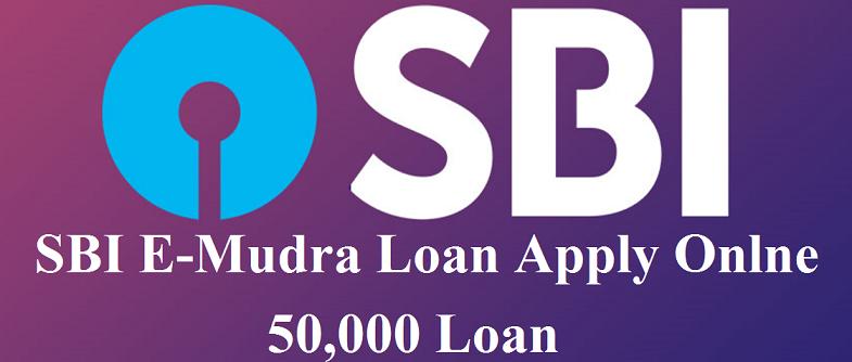SBI E-Mudra Loan