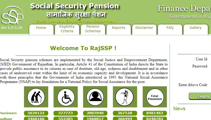 RajSSP Home page