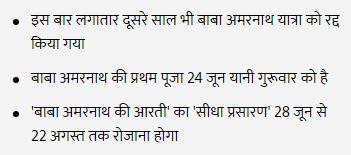 Baba Amarnath Yatra Details