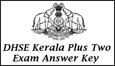 Kerala Plus Two Answer Key 2021