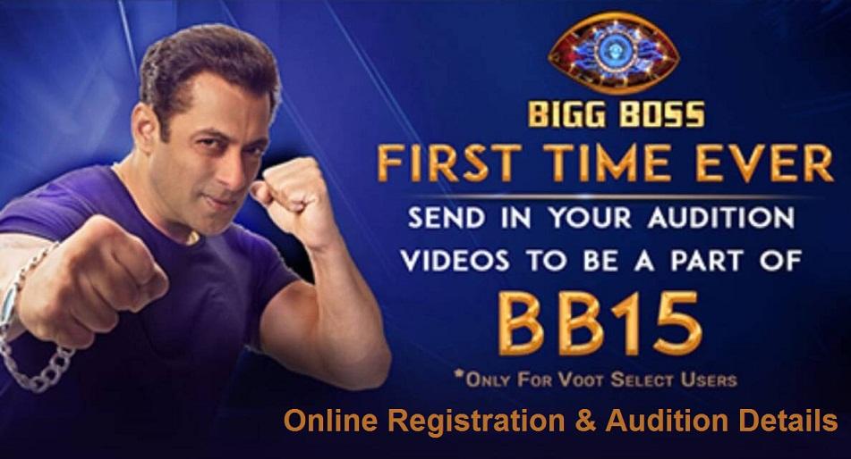 bigg boss 15 auditions Registration