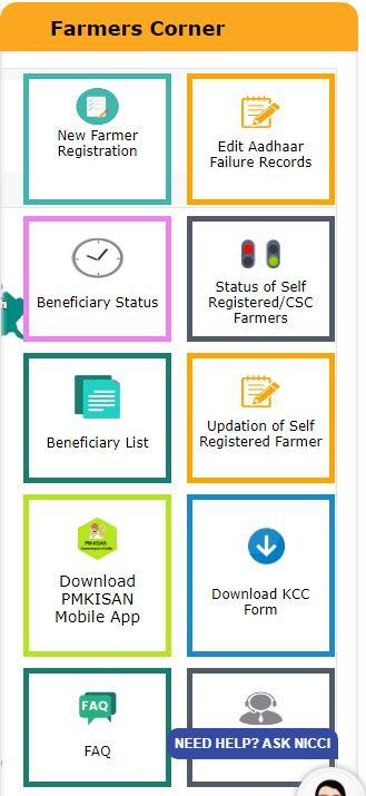 PMSNY 2021 Beneficiary List