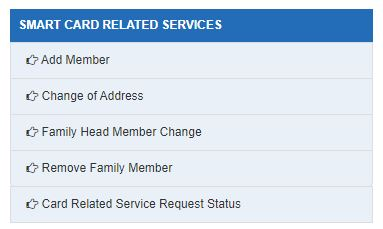 TN Smart Card Related Services