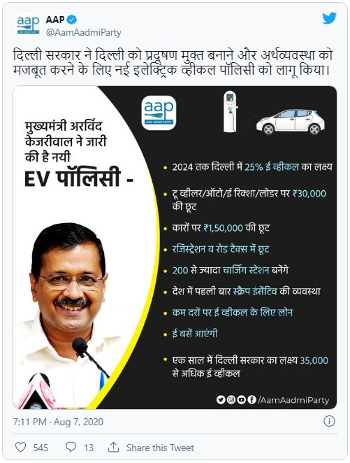 Delhi Electric Subsidy Online